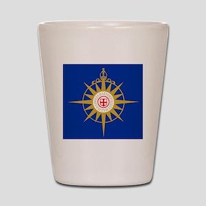 Anglican Flag Shot Glass