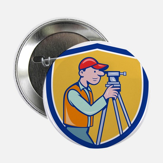 Surveyor Geodetic Engineer Theodolite Shield Carto
