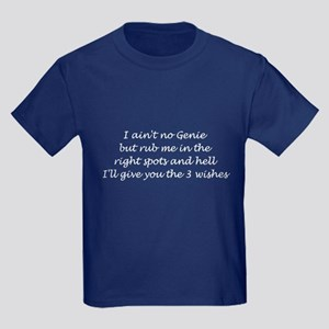 3 Wishes Kids Dark T-Shirt