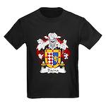 Baena Family Crest Kids Dark T-Shirt