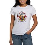 Baena Family Crest Women's T-Shirt