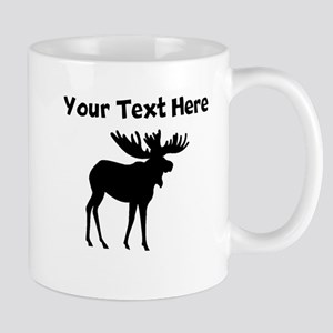Custom Moose Silhouette Mugs