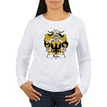 Bada Family Crest Women's Long Sleeve T-Shirt