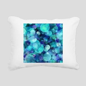 Bubbles 004 Rectangular Canvas Pillow