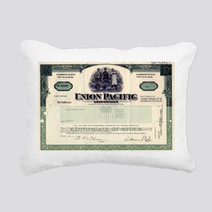 Union Pacific Rectangular Canvas Pillow