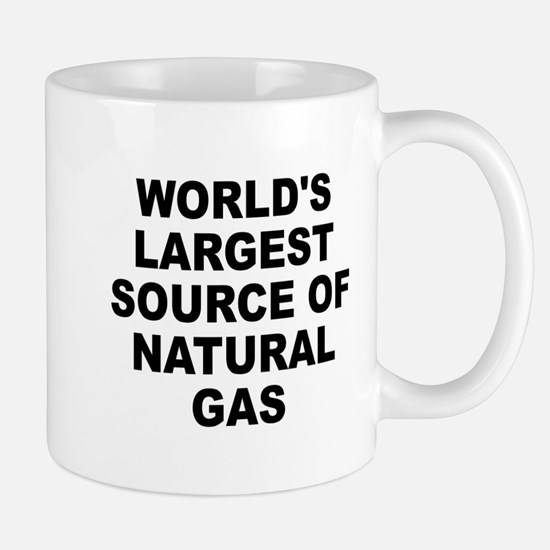 World's Largest Natural Gas Source Mug