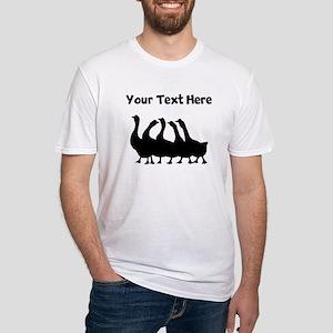 Custom Geese Silhouette T-Shirt