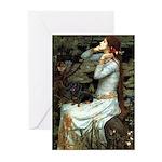 Ophelia's Dachshund Greeting Cards (Pk of 20)