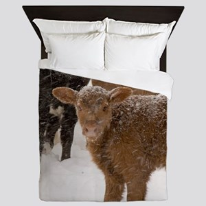 Calves in The Snow Queen Duvet