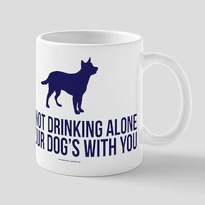 Drinking Alone With Dog Mugs
