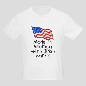 Made in America Irish Kids Light T-Shirt