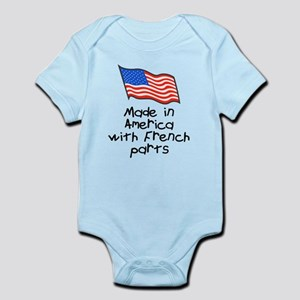 Made in America French Infant Bodysuit