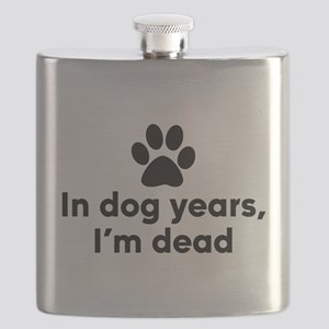 In Dog Years I'm Dead Flask