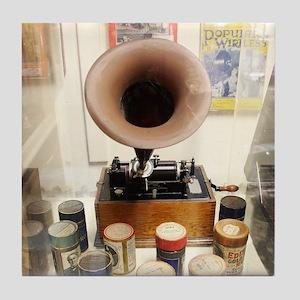 Vintage Sound Machine Tile Coaster