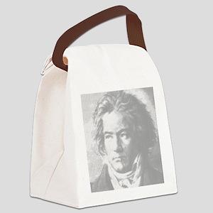 Beethoven Portrait Canvas Lunch Bag
