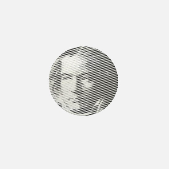 Beethoven Portrait Mini Button