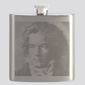 Beethoven Portrait Flask