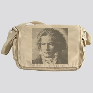 Beethoven Portrait Messenger Bag