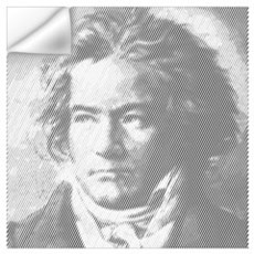 Beethoven Portrait Wall Decal