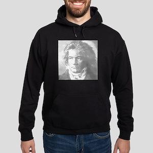 Beethoven Portrait Hoodie (dark)