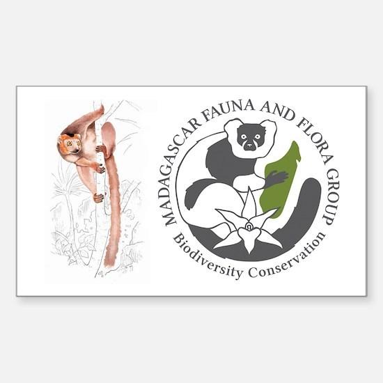 Logo And Lemur Stickers