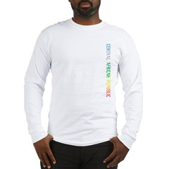 Central African Rep Long Sleeve T-Shirt