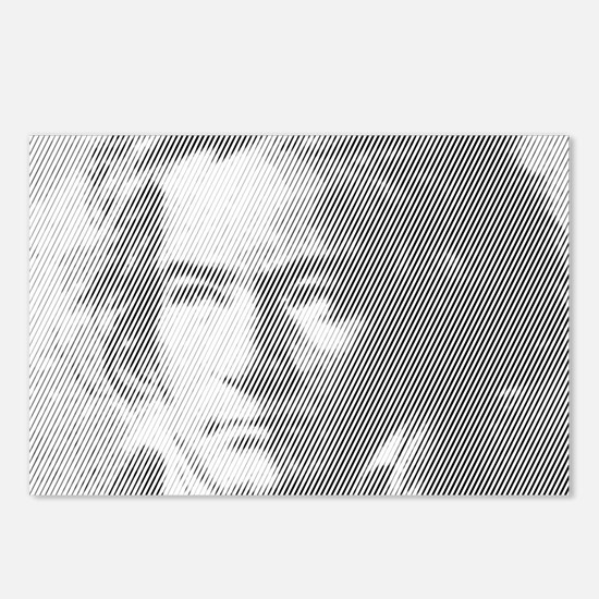 Beethoven Portrait Postcards (Package of 8)