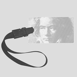 Beethoven Portrait Large Luggage Tag
