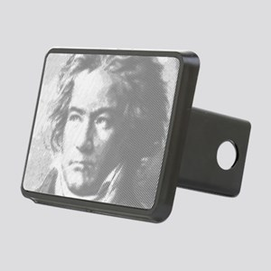 Beethoven Portrait Rectangular Hitch Cover