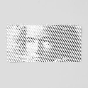Beethoven Portrait Aluminum License Plate