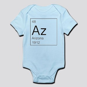 Arizona as State on Periodic Table Body Suit