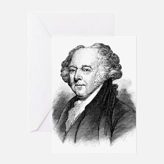 John Adams Greeting Cards