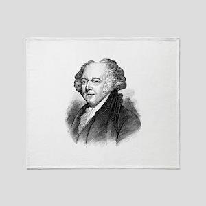John Adams Throw Blanket