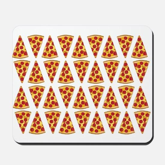 Pepperoni Pizza Slices Mousepad