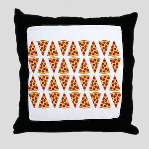 Pepperoni Pizza Slices Throw Pillow