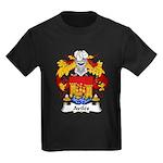 Aviles Family Crest Kids Dark T-Shirt