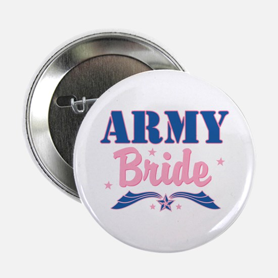 Star Army Bride Button