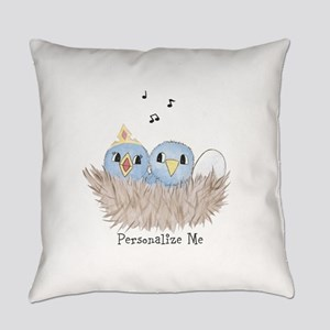 Baby Bird Everyday Pillow