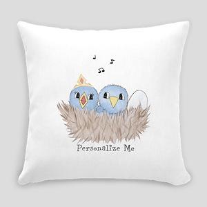 Baby Bird Everyday Pillow