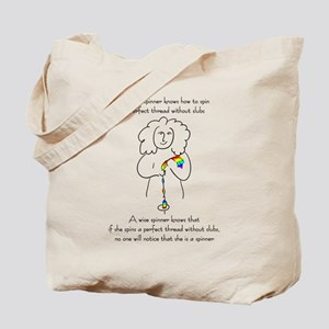 wise spinner Tote Bag