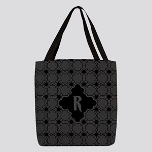MONOGRAM Gothic Quatrefoil Pattern Polyester Tote