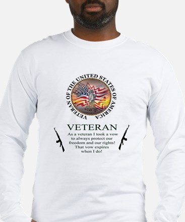 Veteran's Vow Long Sleeve T-Shirt