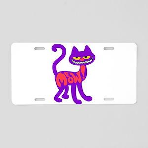 kitty Aluminum License Plate