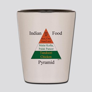 Indian Food Pyramid Shot Glass
