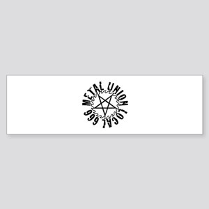 Metal Union Bumper Sticker