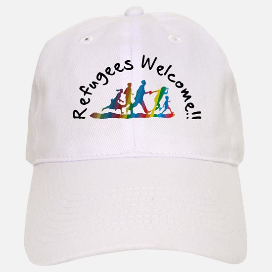 Refugees Welcome Baseball Baseball Baseball Cap