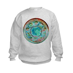 Solar Wheel Kids Sweatshirt