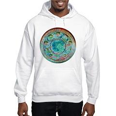 Solar Wheel Hooded Sweatshirt