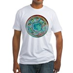 Solar Wheel Fitted T-Shirt
