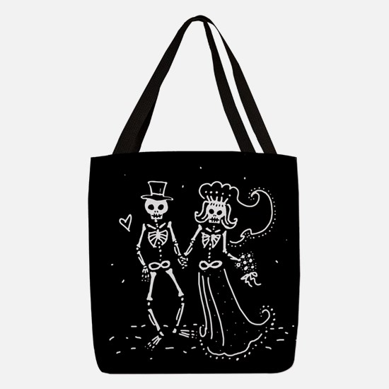skel-couple_13-5x18.png Polyester Tote Bag